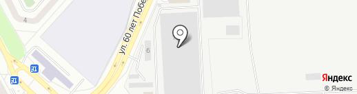ВторСити на карте Омска