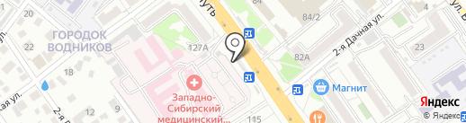Билайн на карте Омска