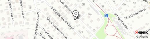 ДКМ на карте Омска