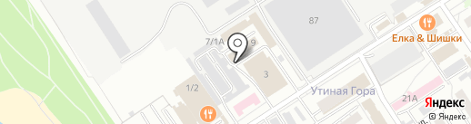 GOSTY на карте Омска