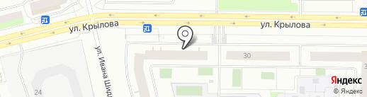 Avenu7 на карте Сургута
