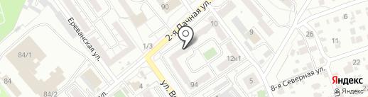 СтройТрансИнвест на карте Омска
