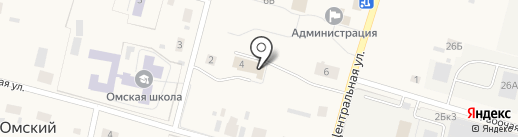 Банкомат, Сбербанк России на карте Омского