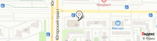 ORION на карте Сургута