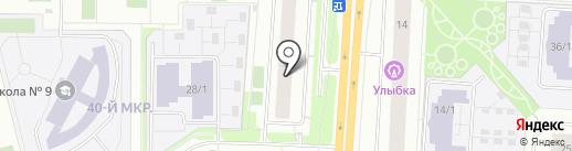 АЛЬФА-РИТМ на карте Сургута