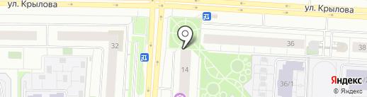 СКАЗОЧНЫЙ ДОМИК на карте Сургута