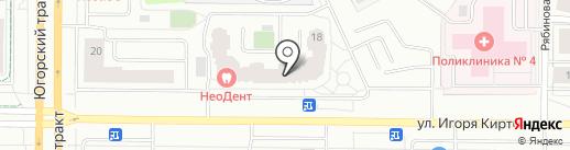 ВкуснО на карте Сургута