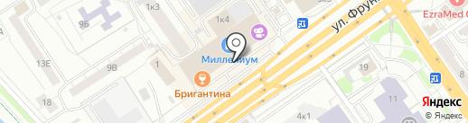 ЦентрКонсалт на карте Омска