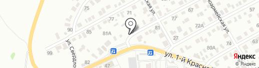Теплоff на карте Омска