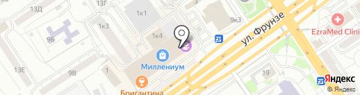 Центр красоты и коррекции фигуры на карте Омска