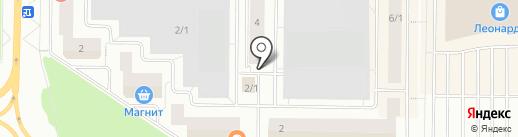 Дом бытовых услуг на карте Сургута