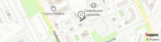 ЭКО ЧИСТКА на карте Сургута