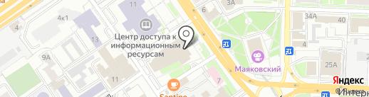 Телефон доверия по вопросам защиты прав и интересов ребенка на карте Омска