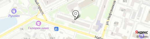 Найт Лайт на карте Сургута