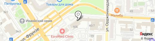 Федеральная служба сервиса на карте Омска