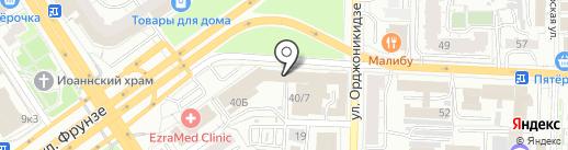 Sert Logistic на карте Омска