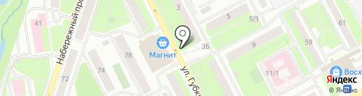 Цветочный магазин на карте Сургута
