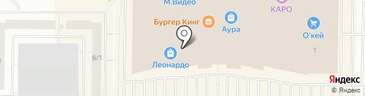 Морозко на карте Сургута
