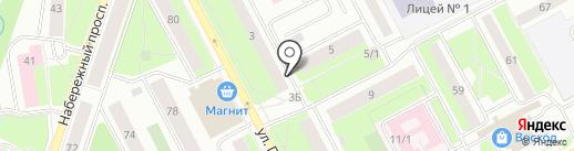 Информпечать на карте Сургута