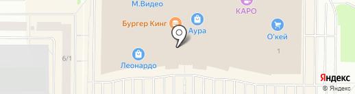 Правильные игрушки на карте Сургута