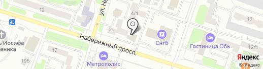 Камила на карте Сургута