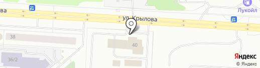 Пожарная часть №49 на карте Сургута