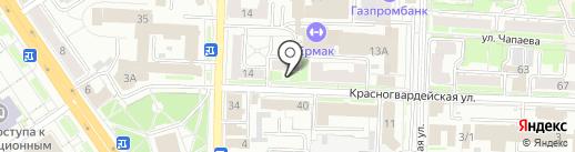 Cherry на карте Омска