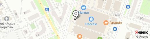 Альфа-потолок на карте Сургута
