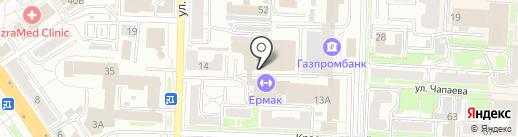 Адвокатский кабинет Садыкова Х.К. на карте Омска