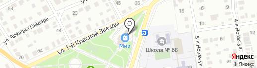 Церковная лавка на карте Омска