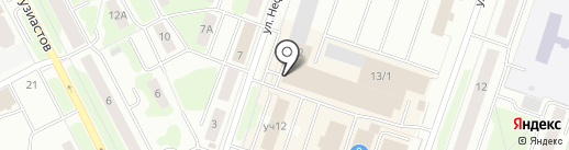 Магазин детской одежды на карте Сургута