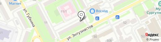 Оптика+ на карте Сургута