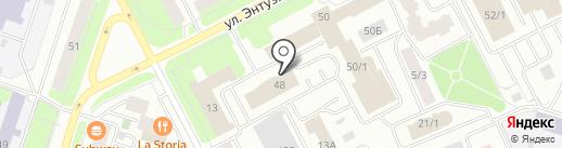 Банкомат, Сургутнефтегазбанк на карте Сургута