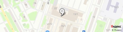 Выбор на карте Сургута