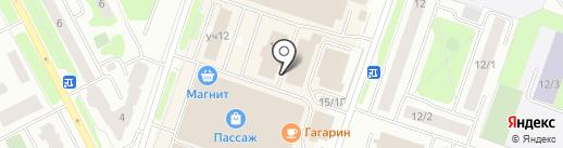 Берёзка на карте Сургута