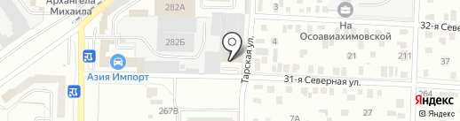 АВТО СТИМУЛ на карте Омска