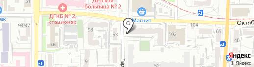 ВЕРНА на карте Омска