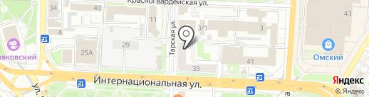 ПироХимика-Центр на карте Омска