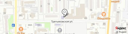 Дружные ребята на карте Омска