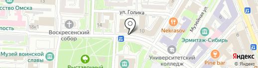 50+ на карте Омска