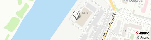 ТК Р.Г.ГРУПП на карте Омска