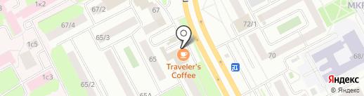 Traveler`s Coffee на карте Сургута