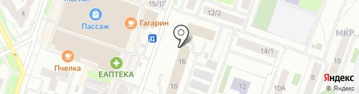 СУРГУТНЕФТЕГАЗ на карте Сургута