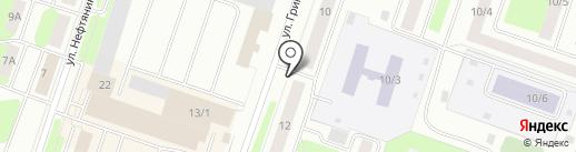 Нефтепромсервис на карте Сургута