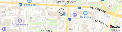 РЕШЕНИЕ на карте Омска