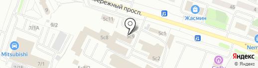 ВМТ-ЮГРА на карте Сургута