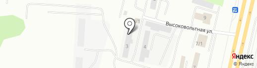 Седьмая вертикаль на карте Сургута