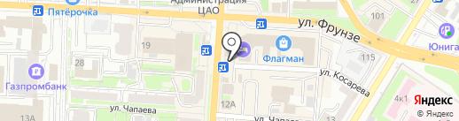 Платежный терминал, КБ Локо-банк на карте Омска