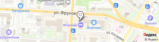 Ледон на карте Омска
