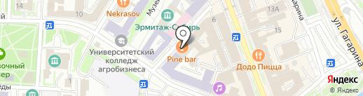 Gerlash lash & brow на карте Омска